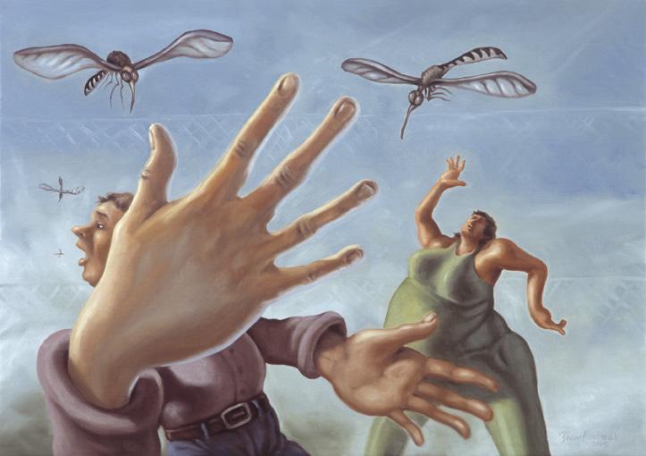 Pelkosenniemen hyttysmagneetut, 2005