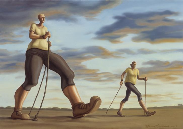 Sauvakävelijät työssään, 2005