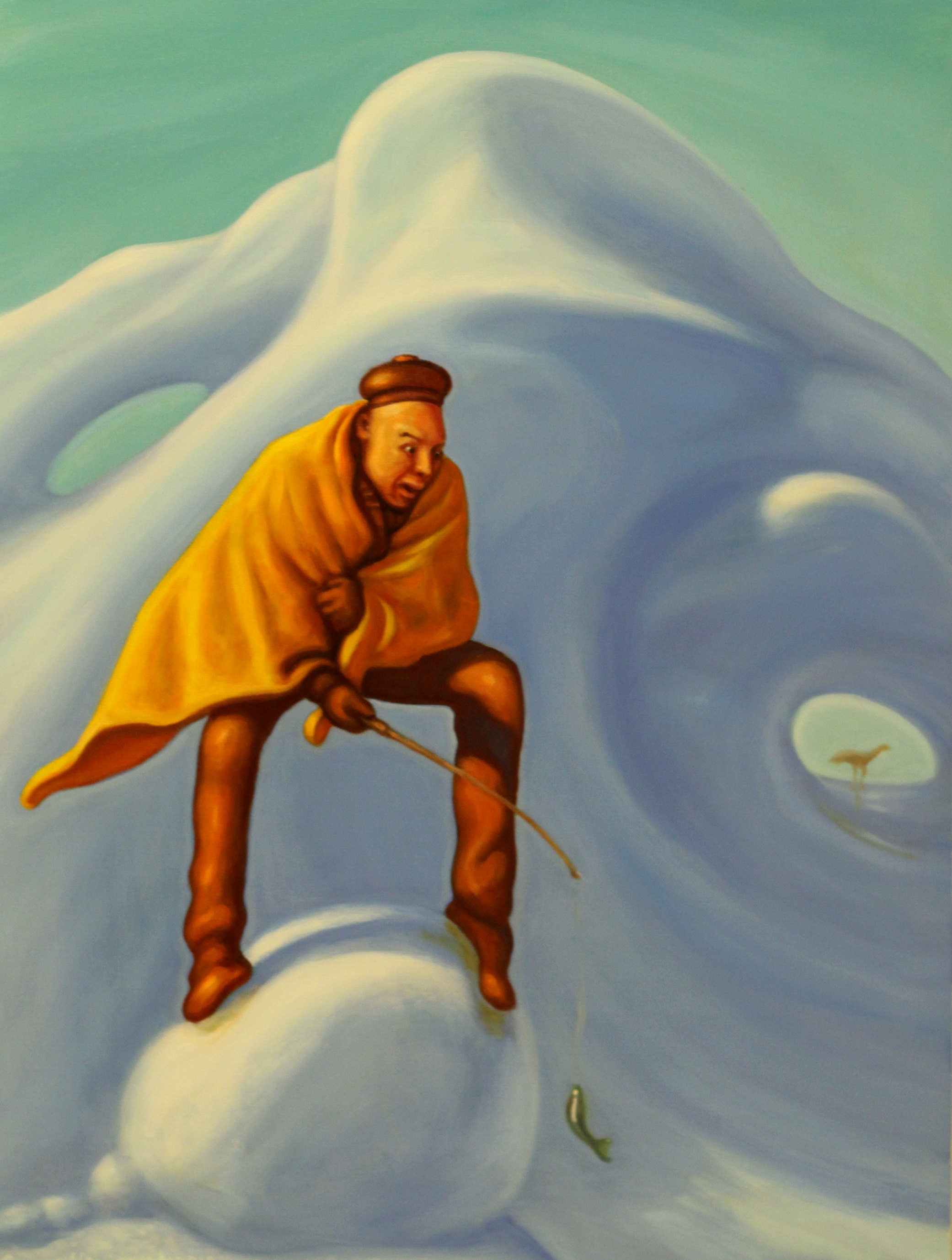 The Fisherman From Mountain, 2018