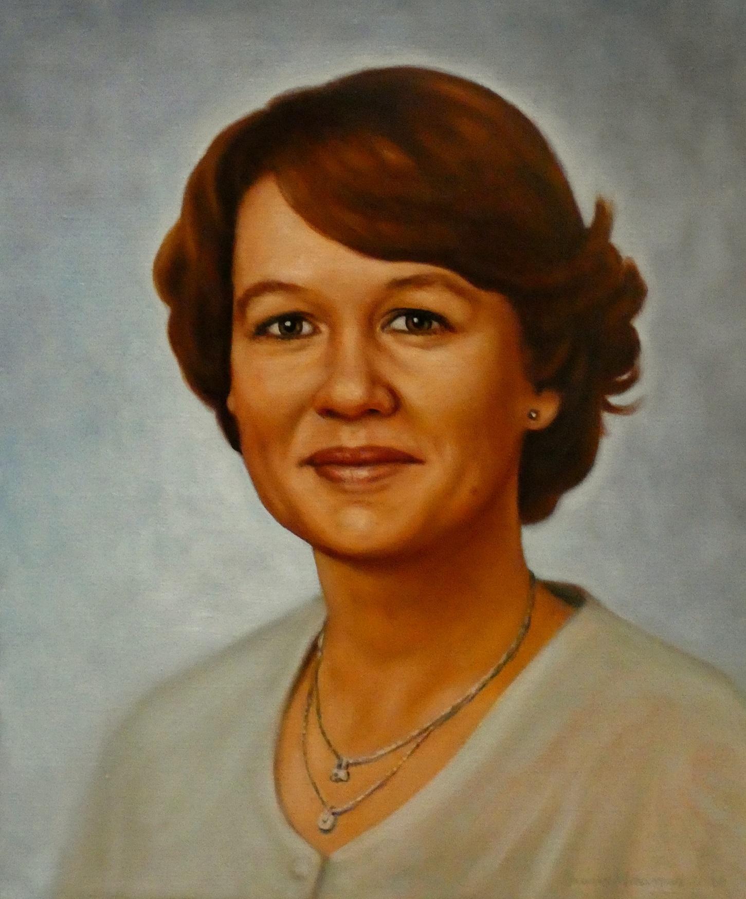 Portrait Of Teacher, 2020